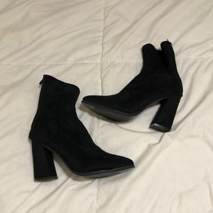 Black sock booties!! Never worn before
